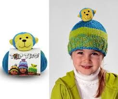 DMC Top This Yarn Monkey Hat