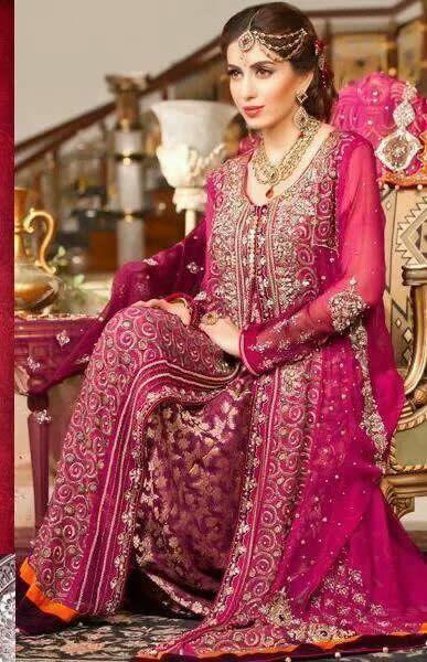 Wedding Dresses in Pakistan - Vestidos de Casamento no Paquistão