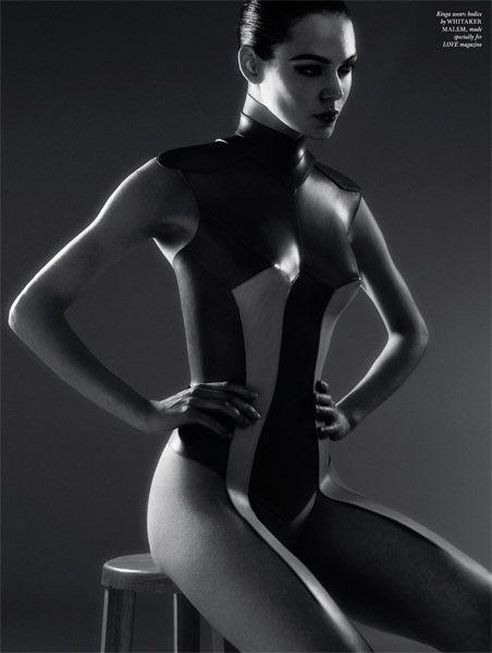 whitaker-malem-fashion-formed-leather-breastplate-kinga-love-magazine | Flickr - Photo Sharing!