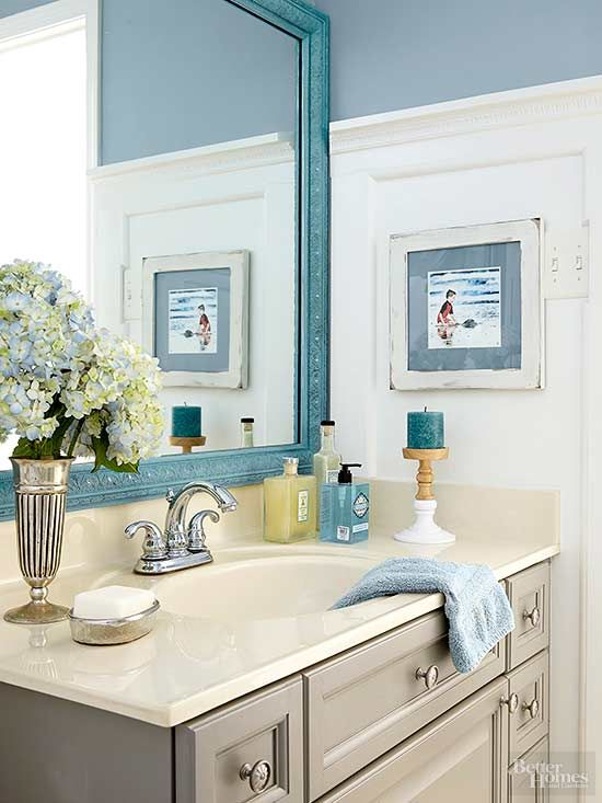 It only took two coats of a dual paint and primer paint to cover. 17 Best images about bathroom on Pinterest   Small bathroom