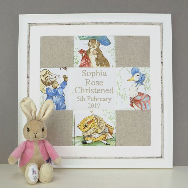 Beatrix Potter© Name and Date Picture