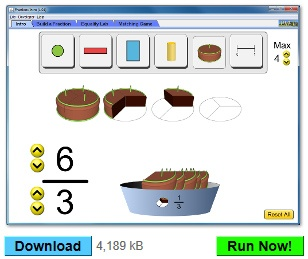 Interactive simulations for all grade-levels and subject areas.