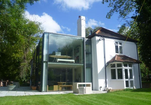 Michael wigginton contemporary house 12 contemporary glass for Modern house additions