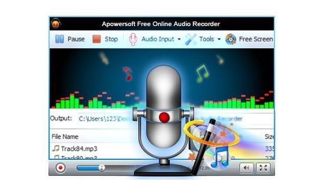 #Apowersoft, utilidad web o de Escritorio para grabar audio y compartirlo