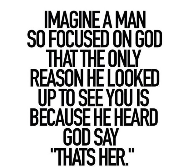 I want a man who always puts The Lord first. I found one, so they do exist, he's just not the right one yet. But those kind of guys are out there :)