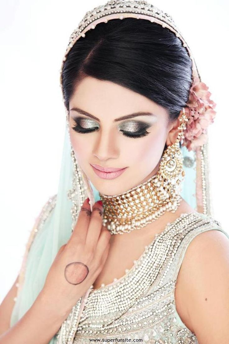 Worst makeup mistakes on your wedding indian bridal diaries - Pakistani Bridal Makeup Ideas 2014 With Bridal Picture