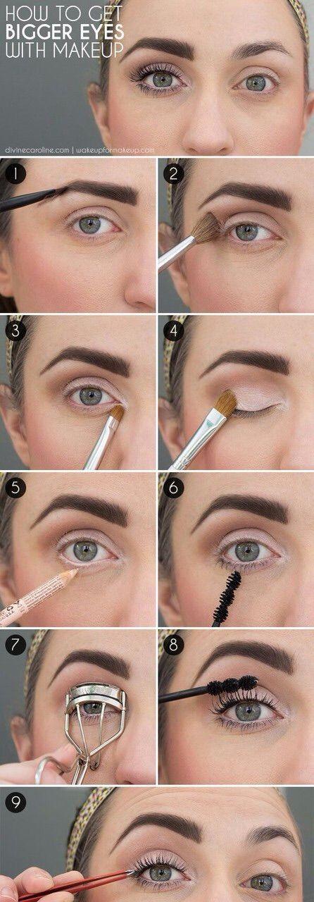 Image via We Heart It https://weheartit.com/entry/156069515 #beaty #diy #makeup #tips #biggereyes