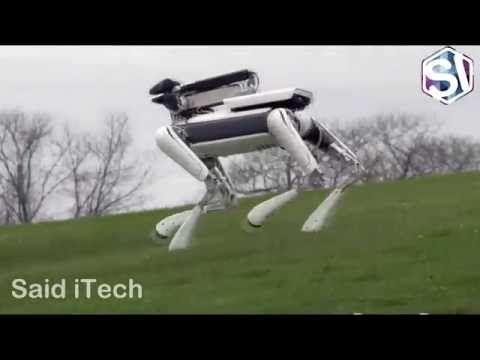 روبوت جديد 2016 | New Boston Dynamics Robot SpotMini - YouTube