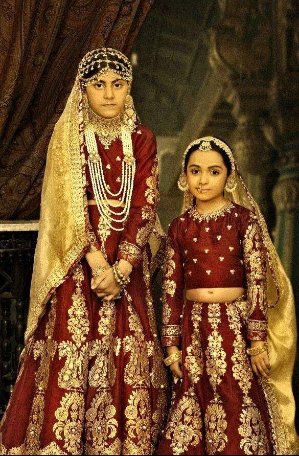 "By Ali Xeeshan's ""The Royal Family Portraits"" ( Mughal Rani: princesses )"