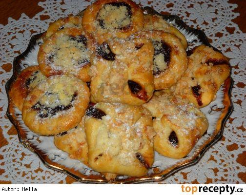 Kynuté koláčky ze zbylých bílků