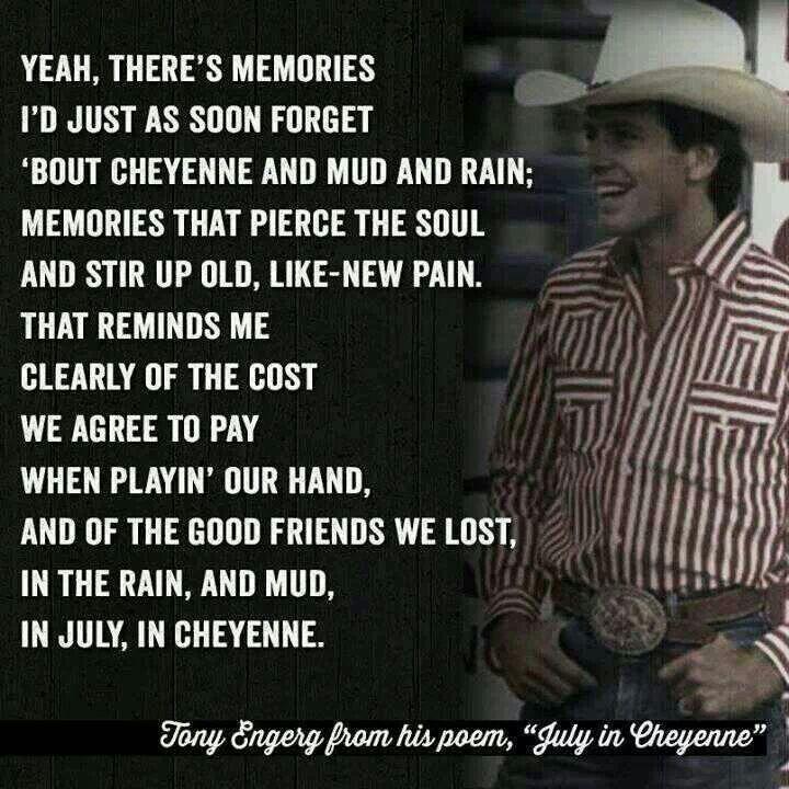 July in Cheyenne....