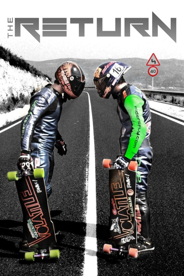 Let's battle! #downhill #longboarding only one way to prove what u r