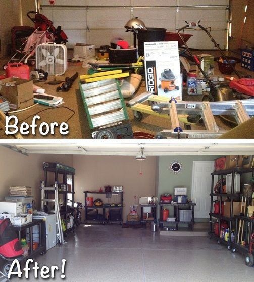 10 Best Before And After Garages Images On Pinterest