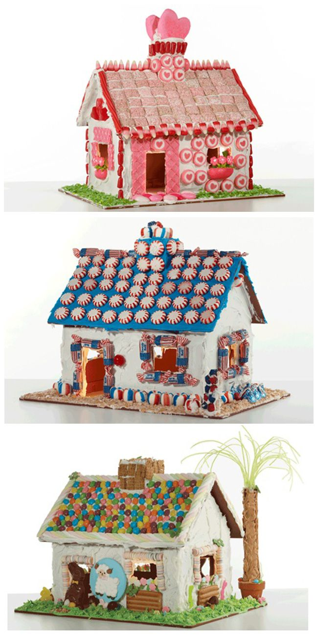 Ideas for a gingerbread house - Holiday Gingerbread House Ideas