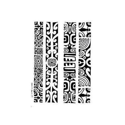 Image Bijoux - Tatouages bracelets maori et polynesien autocollant - tarawa com - 3,50 €:
