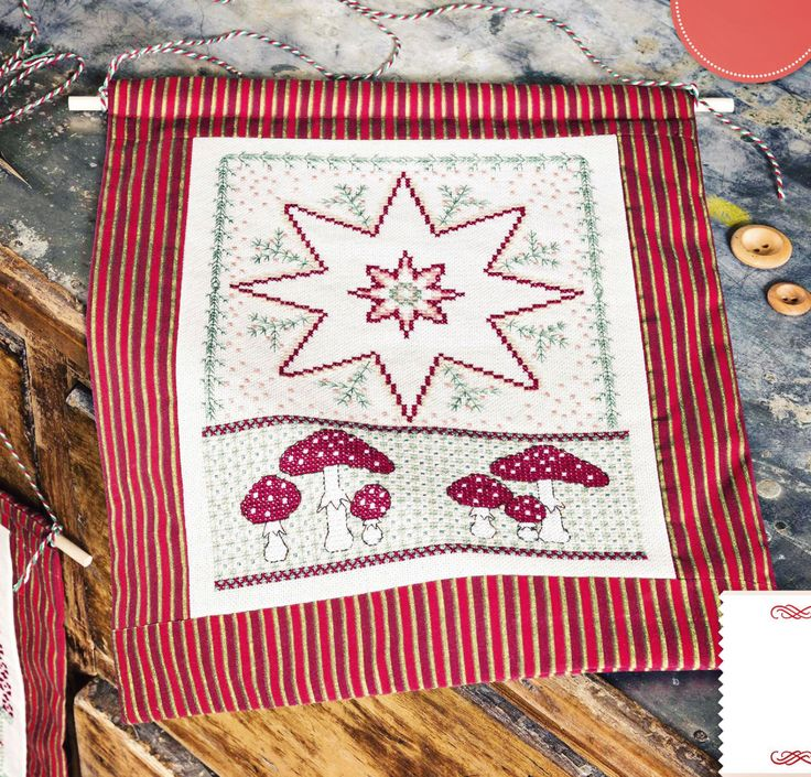 Star Of The Show - Project available in The World Of Cross Stitching 234