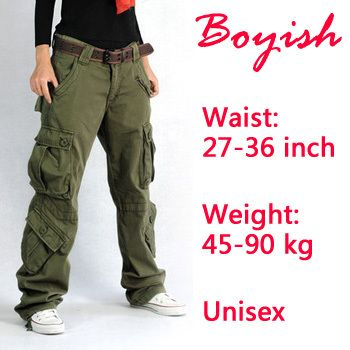 draag NOOIT broeken met klepzakken aan de zijkant!! Never wear a cargo pants !