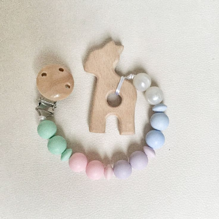 A personal favourite from my Etsy shop https://www.etsy.com/ie/listing/556004417/pacifier-clipsilicone-beads-nursing-clip