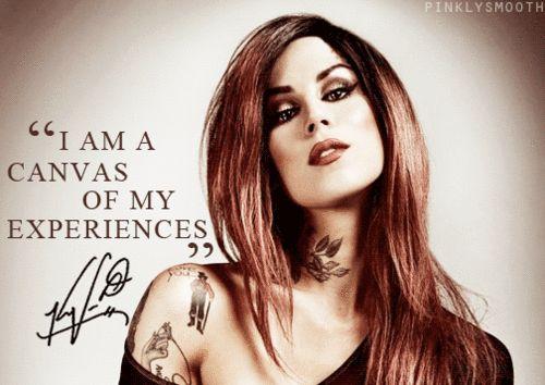 I'm addicted to Kat Von D.