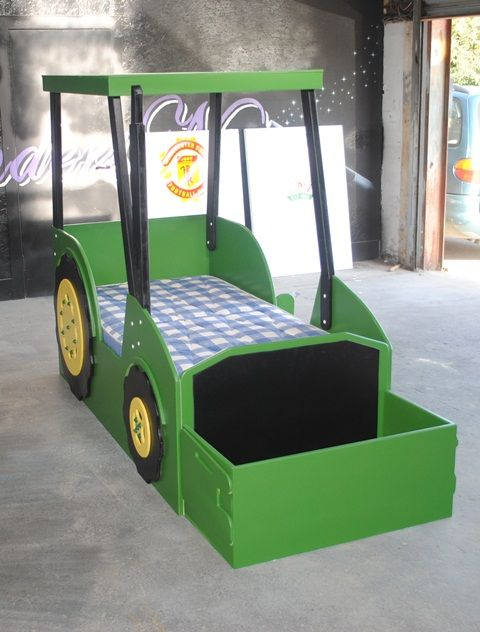 John Deere Tractor Bed Plans | wonder if it comes in a double…