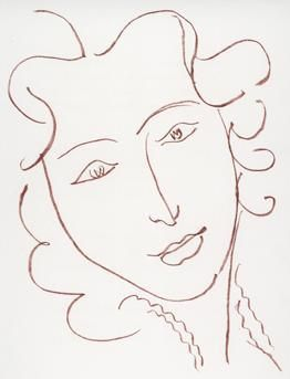 I love Henri Matisse. His lines are so simple and clean but they have character as well.