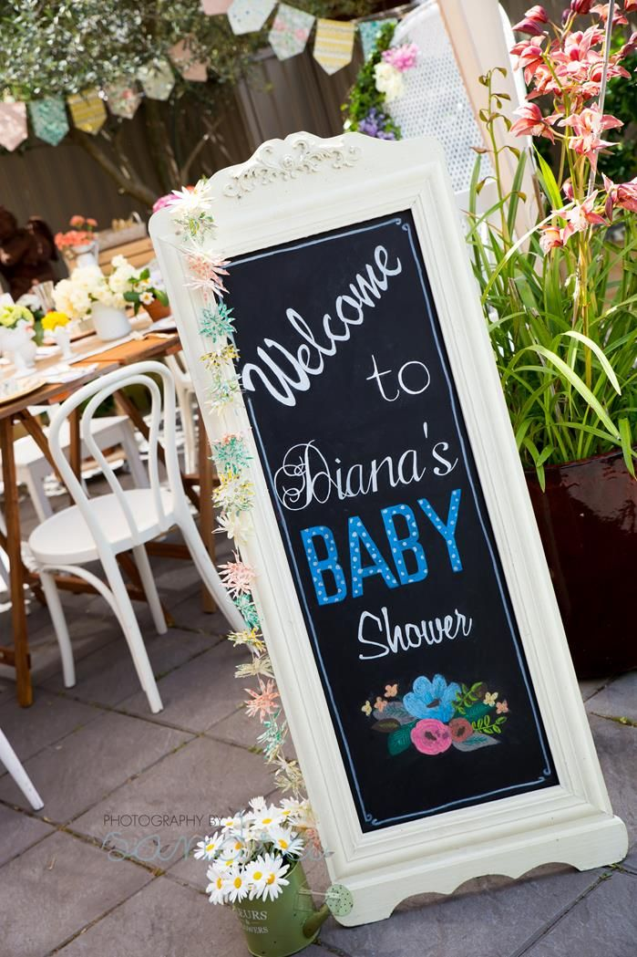 themes baby shower parties shower ideas girl baby showers garden baby