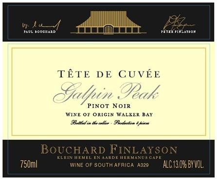 Najlepsze Pinot Noir z RPA, nie tylko według nas. #pinotnoir #bouchardfinlayson #tetedecuvee