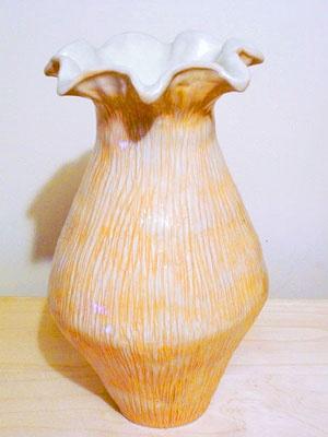 16 inch One-of-a-Kind Porcelain Vase