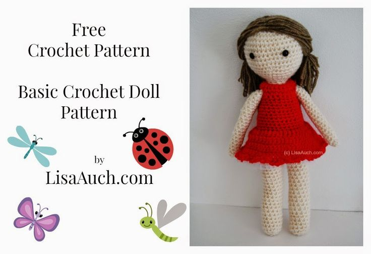 Amigurumi Free Basic Body Crochet Pattern : 1000+ images about FREE Crochet Toy (amigurumi) Patterns ...