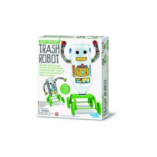 4M Green Creativity, Trash Robot