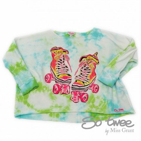 SO TWEE by #missgrant TIE AND DYE SWEATSHIRT. Sale 50% off Spring&Summer Collection! #discount