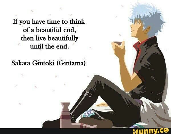 Anime Quote From Gintama
