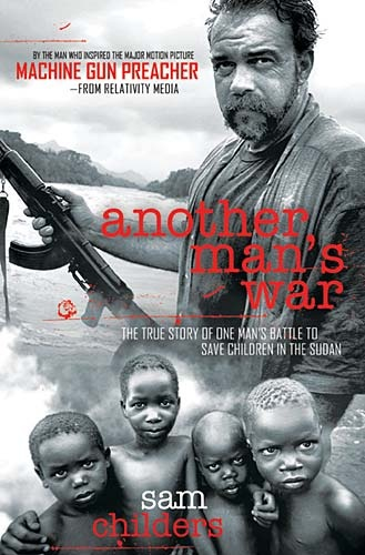 This is a book about a true story. Written by Sam Childers, a guy who was messed up on drugs and riding motorcycles who traveled to Africa, He became a preacher and shoots the rebels of Joseph Kony, rescues orphans and started an orphanage filled with the orhans who were child soldiors rescued from the LRA. AWSOME BOOK! Also made a movie about this guys life and mission. Gerard Butler played him in the movie! AWSOME MOVIE TOO!
