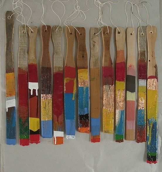 20 projects using paint stirrers