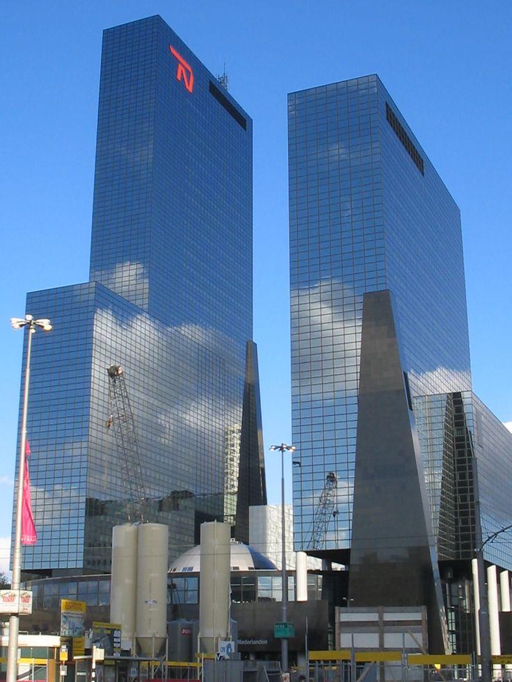 Rotterdam…  The views were amazing!