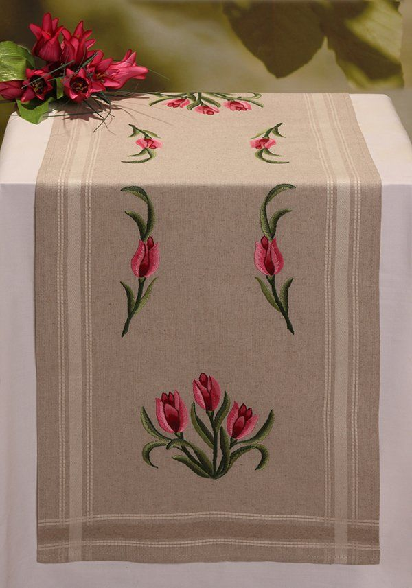 Machine Embroidery Designs - Tulips