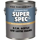 Super spec hp d t m acrylic low lustre p25 for interior - Benjamin moore ultra spec exterior ...