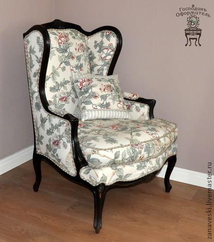 """Кресло """"Вольтеровское"""" - кресло,кресло антикварное,вольтеровское кресло"""