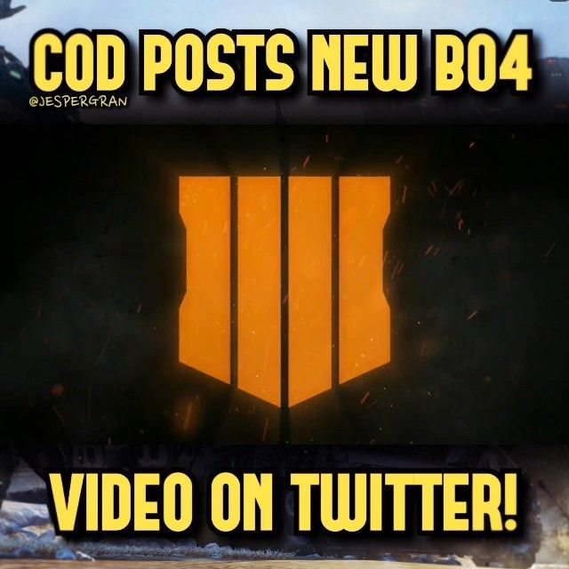 "New BO4 teaser trailer: ""In what represents a game-changing experience Call of Duty: Black Ops 4 will revolutionize the top-selling series in Call of Duty history when it launches worldwide on Friday October 12.""-tag a friend 5000 likes? followcheck out the link in my bioturn on post notifications 2nd account: @jespergranmore#CoD #SledgehammerGames #BlackOps3 #WorldWar2 #Treyarch #MWR #callofduty#InfiniteWarfare #BlackOps4 #WWIIZombies #Zombies #CallofDutyIW#InfinityWard #PS4…"