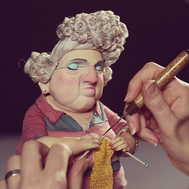 """The making of stop-motion film """"ParaNorman"""""""