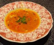 Coconut Black Eyed Pea Soup
