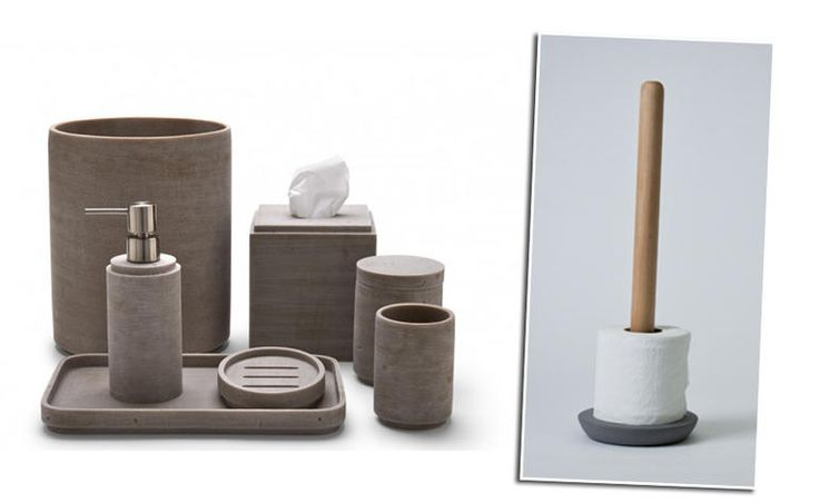 23 Chic Concrete Home Accessories from Katie Anderson of Modern Eve