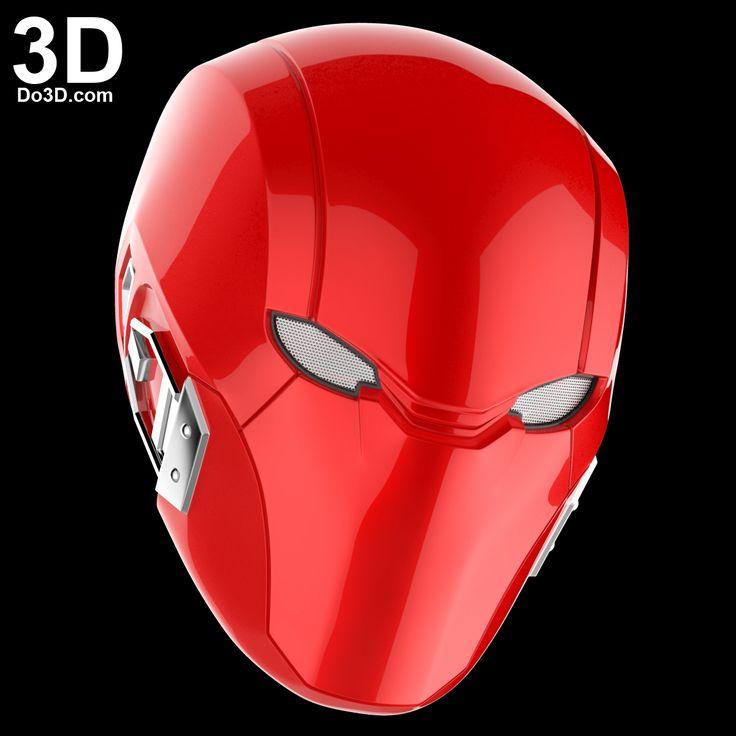 3D Printable Model: Red Hood Injustice 2 Helmet Cowl   Print File Formats: STL – Do3D.com