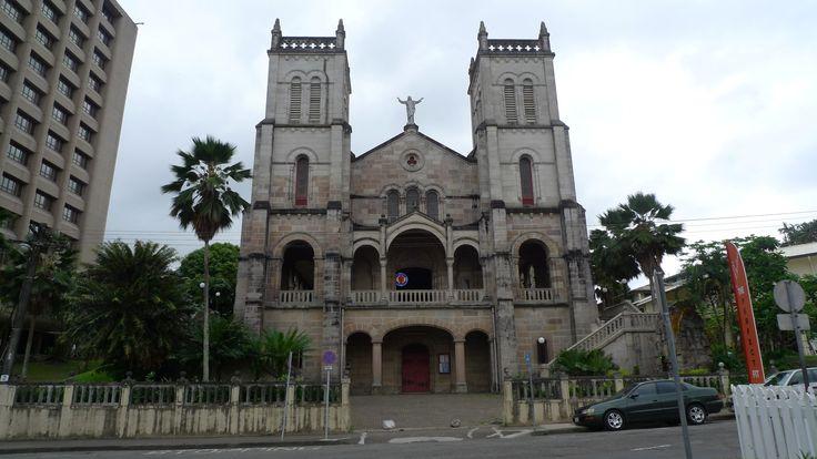 Sacred Heart Cathedral in Suva, Fiji