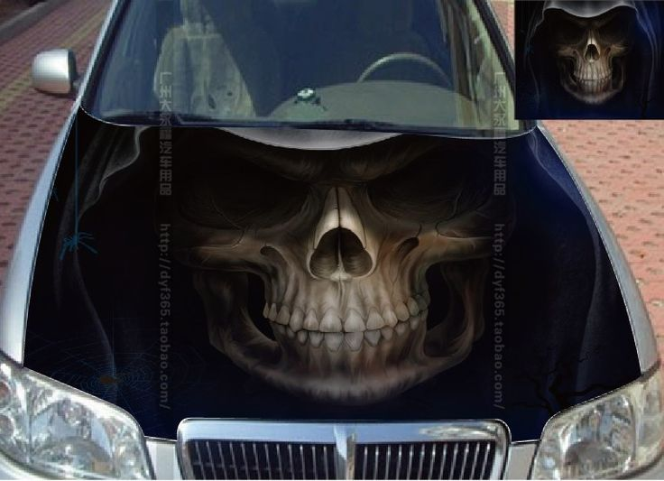 Best Cars Are Sexy Tits Images On Pinterest Colors Custom - Car sticker designripped torn metal design with evil eye monster motif external