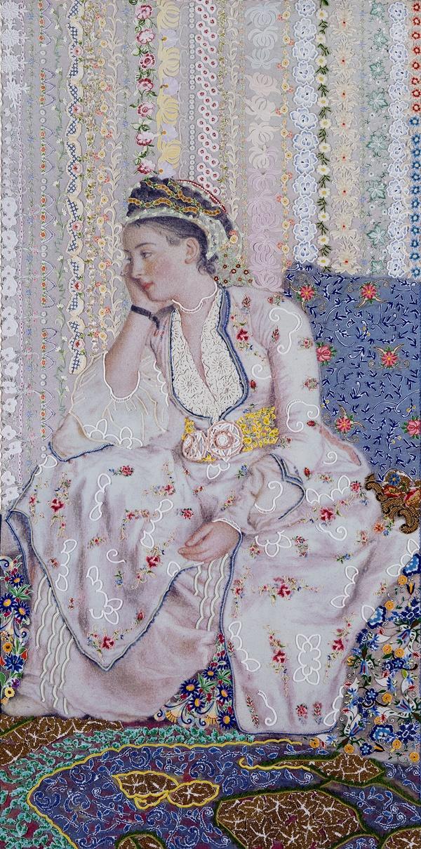 On victorian and oriental woman 2 - Barbara Broekman