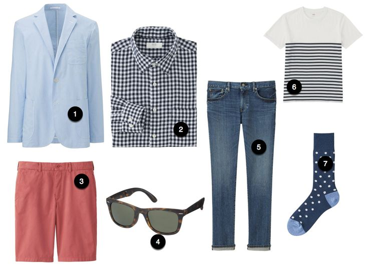 Cheap Clothes for Men in Spring 2016 at Uniqlo