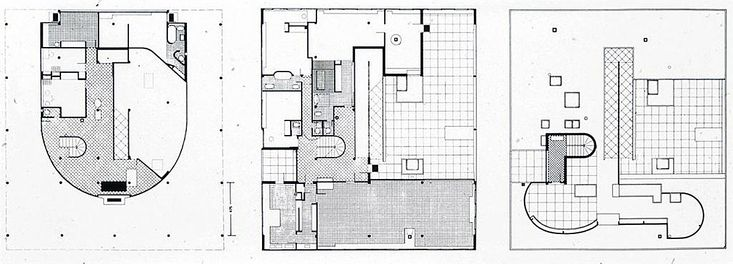 Le Corbusier Villa Savoye Diagrams 2018 Images Pictures Villa
