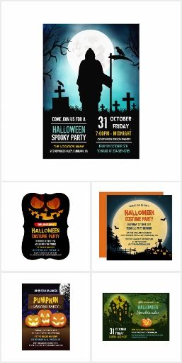 301 best halloween party images on pinterest halloween parties halloween party invitation collections stopboris Choice Image