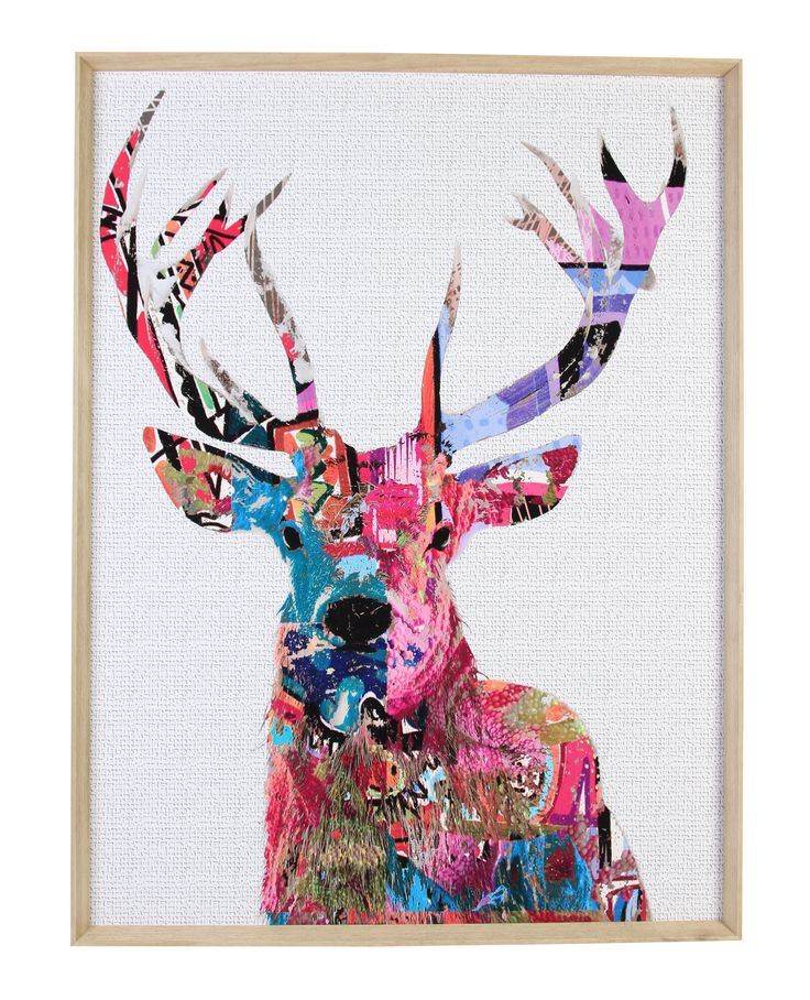 DANDY DEER FRAMED PRINT 160 X 120 | Wall Art | Pinterest ...